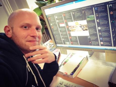 Johannes Barthel, Social Media-Manager der Stadt Nürnberg