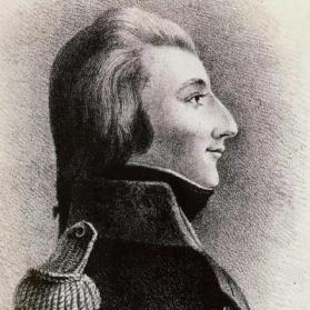 picture of Wolfe Tone b&w profile